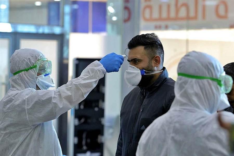 目前新冠肺炎疫情在歐洲竄起,英國確診801人,死亡人數為8人。(圖/美聯社)
