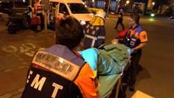 台南市出租套房火警 1男重傷送醫