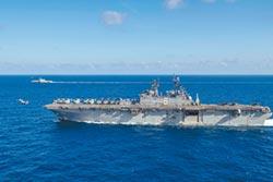 美重兵闖南海 起降F-35戰機