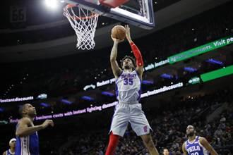 NBA》火箭獲得優質中鋒伍德 3年4100萬美元