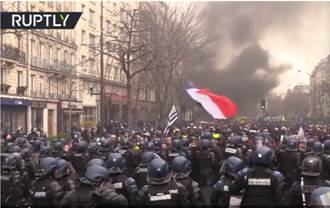 疫情?沒在怕 法國黃背心照樣上街抗爭