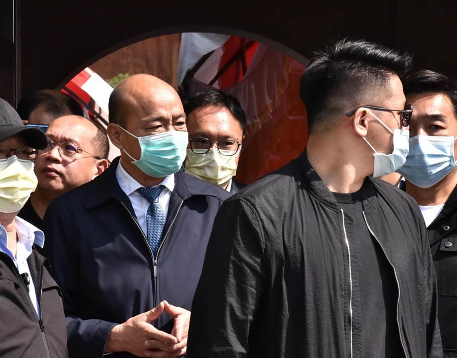 江主席的表情_江韓會 江啟臣、韓國瑜未鬆口 - 政治 - 旺報