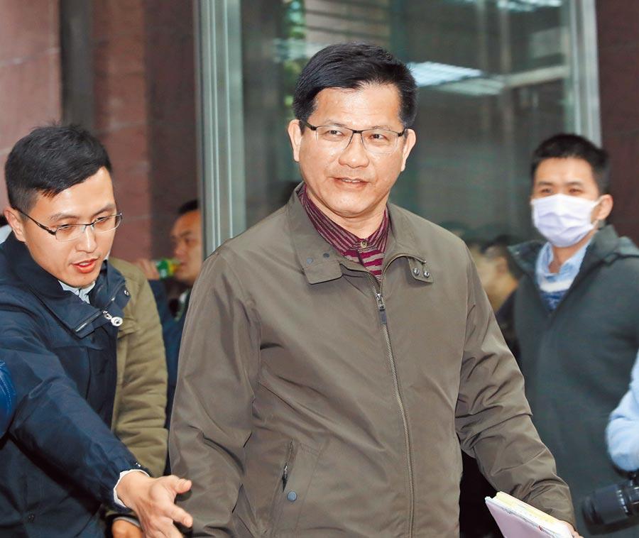 交通部長林佳龍說,空汙法已修法,中央、地方應以夥伴關係合作,改善空汙,「請台中市政府加油」。(本報資料照片)