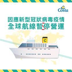 《產業》疫情全球大流行,歌詩達郵輪停航至4月3日