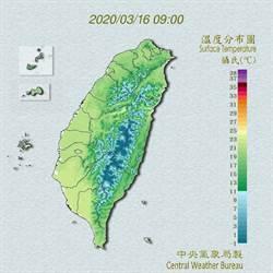 吳德榮:明天回暖周三轉變