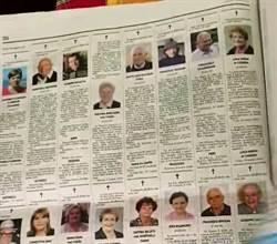 影》義小鎮一周146人病死 報紙訃聞1頁增張至10頁