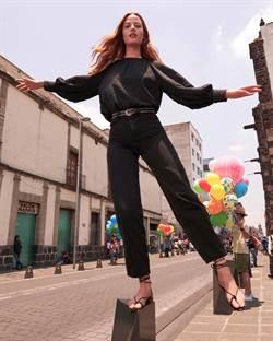 LEVI'S Balloon高腰繭型褲  襯托曼妙腰身
