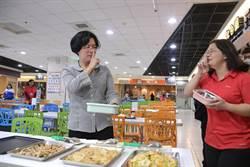 保護外食族 王惠美示範提醒用餐六大衛生守則