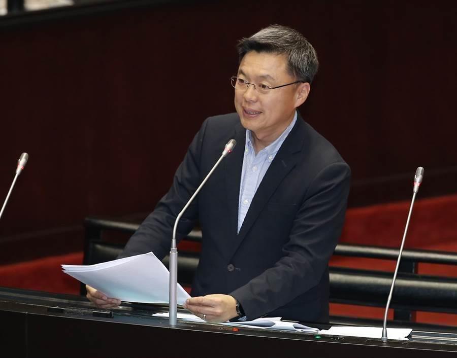 民进党立委赵天麟。(中时资料照)