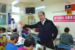 陳超明出席社區口罩套DIY 酸網軍不要只出一張嘴