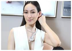 肯定台灣防疫  Boucheron七億珠寶登台  賦閒名模笑:終於上工了