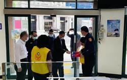 警政署長訪竹縣防疫座談 籲謠言勿傳