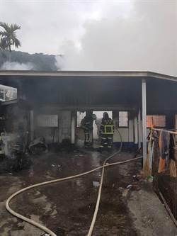 台東民宅火警 母親和6月男嬰燒成焦屍