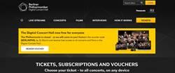柏林愛樂數位音樂廳 開放30天免費欣賞券
