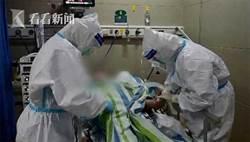 醫生好有愛 武漢103歲確診老人治癒出院