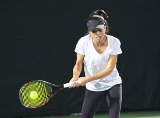 阿布達比網賽》直落二不敵日組合 謝淑薇無緣女雙四強