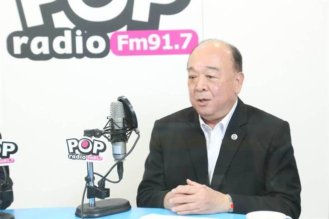 國民黨立委吳斯懷。(POP RADIO提供)