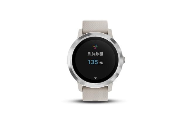 Garmin的Vivolife悠遊智慧腕表,6990元。(Garmin提供)