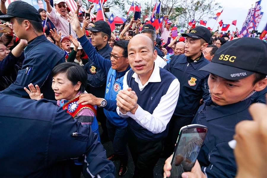 高雄市長韓國瑜。(資料照,李忠一攝)