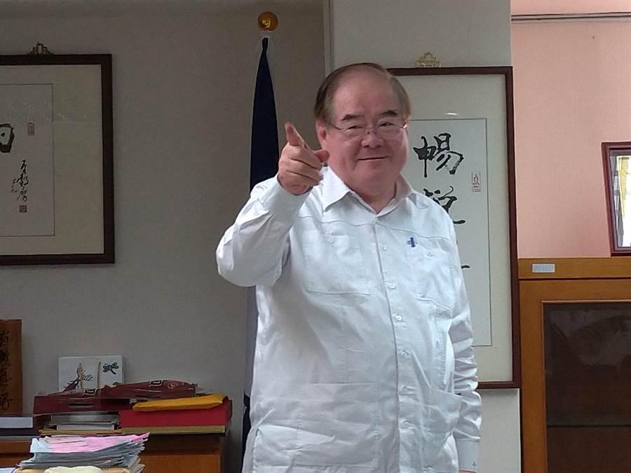 國民黨祕書長由前新北市黨部主委李乾龍。(圖/黃福其攝)