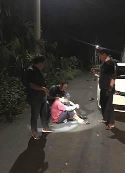 直擊警開槍緝毒現場 嫌開車犯意圖衝撞遭轟15槍