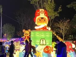 台灣燈會滿意度逾九成!產業燈區機器人、大同寶寶民眾按讚