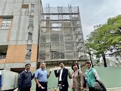 張廖萬堅爭取經費催生 台中市立高中第一所國際學舍7月將完工