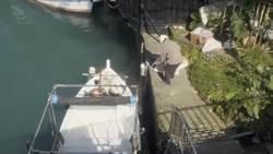 基隆絕景「阿根納造船廠」遭偷倒廢棄物 港警火速裁罰