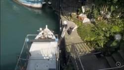 阿根納造船廠偷倒廢棄物 基隆港警火速查捕不法業者