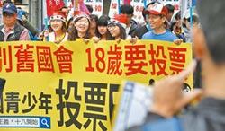 打破民主18禁 民眾黨推16歲入黨
