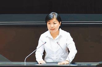 楊瓊瓔立院再度提案 首都減壓 遷建台中