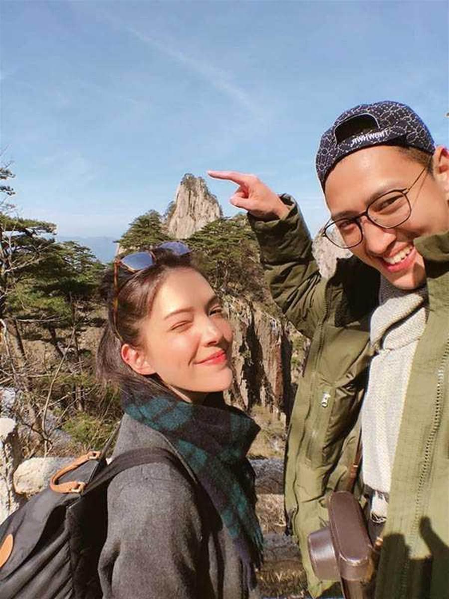 許瑋甯與劉又年感情穩定,還爆出密婚。(圖/翻攝自臉書)