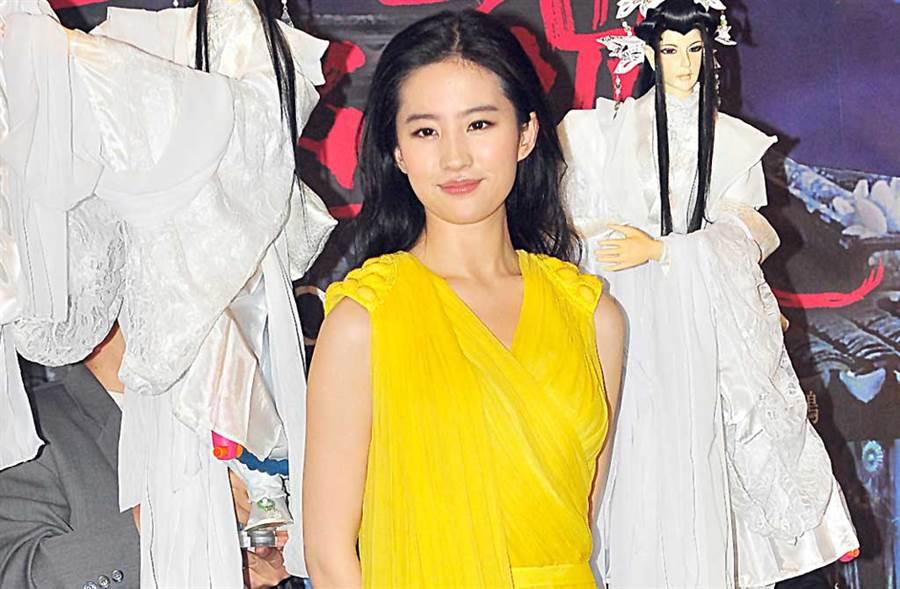 大陸廣電局頒布「限籍令」,美籍劉亦菲被點名。(中時資料照片)