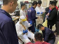防新冠病毒 中市專責救護車 防疫滴水不漏