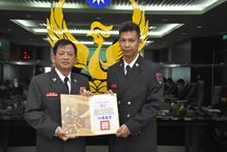 新北消防局小隊長黃名揚救災拒收餽贈 廉潔自律獲表揚