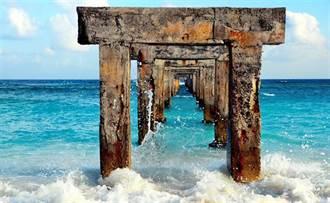 太平島也有八大美景 宛如英格蘭巨石陣