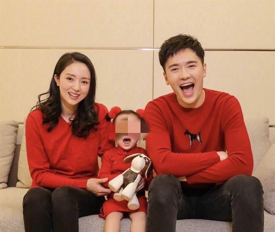 高雲翔與前妻董璇及可愛女兒的幸福家庭,因他捲性侵案而崩解。