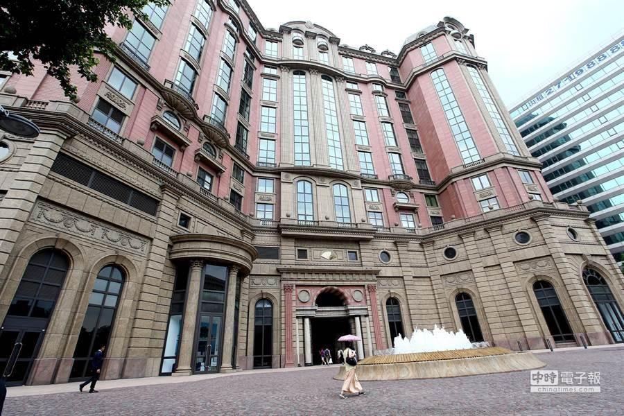 台北文華東方酒店。(資料照,陳信翰攝)