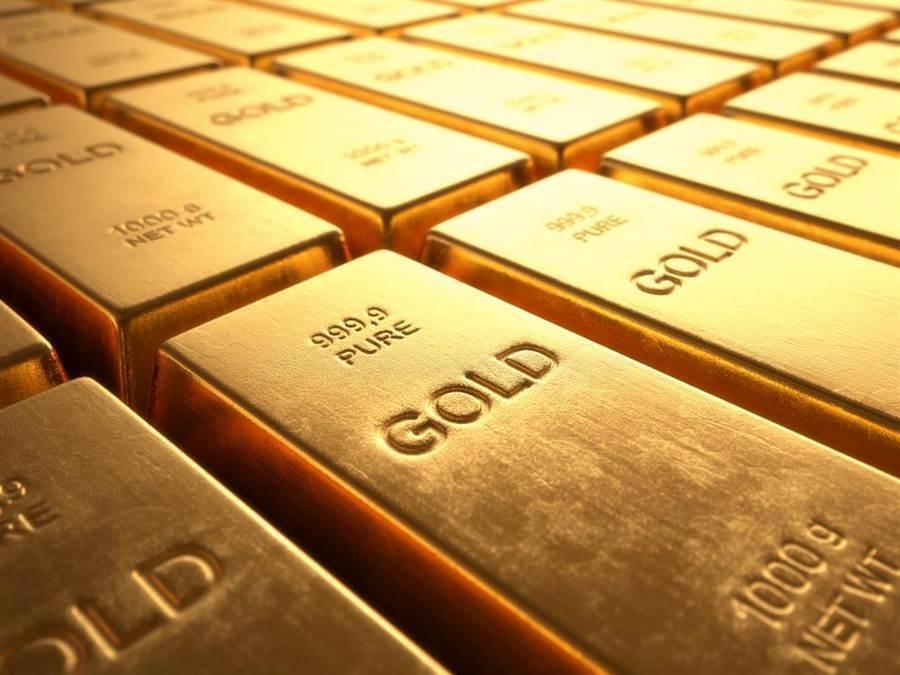 黃金周三重挫3%,收在1477.90 美元。(圖/達志影像/shutterstock)