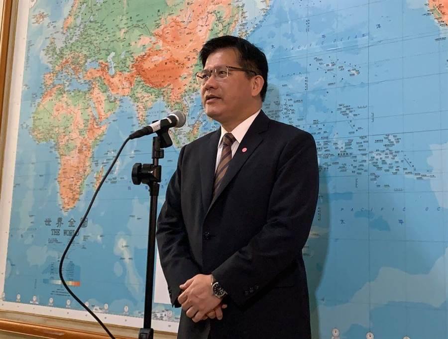 交通部長林佳龍(本報資料照)