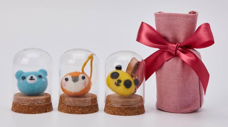 誠品生活板橋店|幸福兔羊毛氈手作課程。(誠品提供)