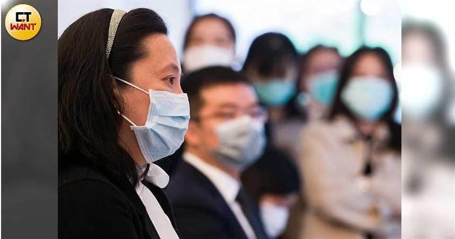 瀚寓酒店董事長馬維欣表示,答應加入防疫旅館行列,是她人生最難的決定之一。(圖/黃威彬攝)