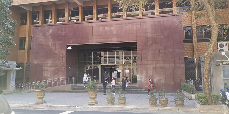 台北地院1名員工有歐洲旅遊史,昨開始居家檢疫。(黃捷攝)