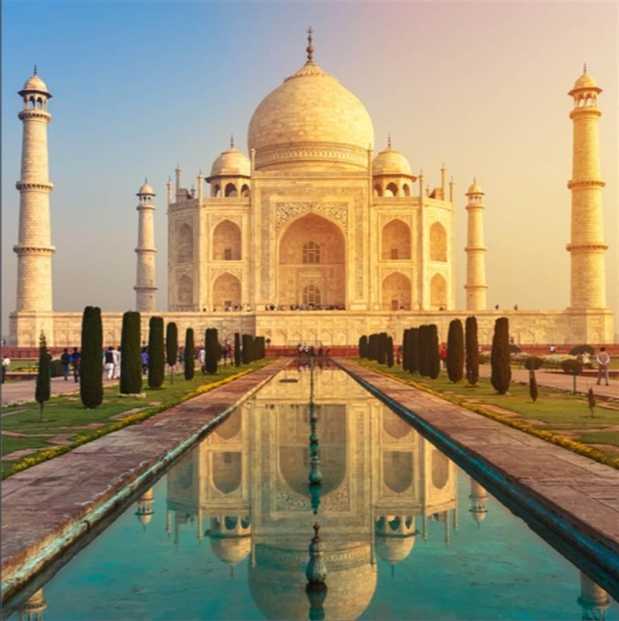 印度泰姬陵 (Shutterstock)