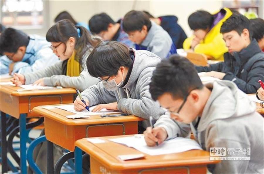 因新冠肺炎疫情持續延燒,讓即將到來的大學第二階段入學程序受到衝擊。(圖片取自中時電子報)