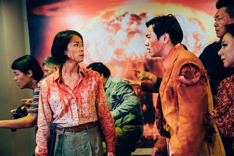 片中禾浩辰演出從小暗戀學姊賴雅妍的魯蛇。