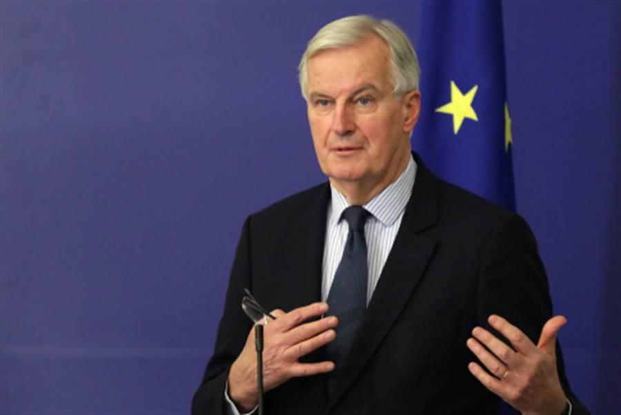 歐盟脫歐首席談判代表巴尼爾。(shutterstock)