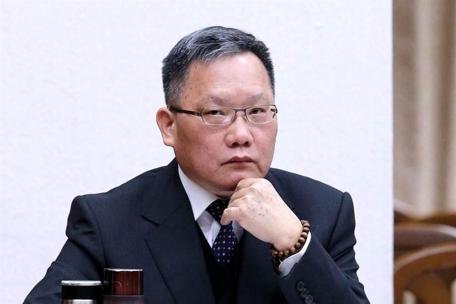財政部長蘇建榮。(黃世麒攝)