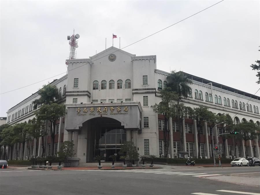 台南市警方有警員擔心接觸確診患者,衛生局詢問狀況後評估不需隔離與篩檢。(翻攝照片/程炳璋台南傳真)