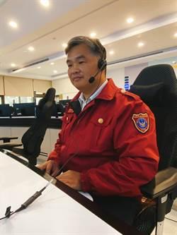 電話那頭傳安心聲音 三連霸績優執勤員協助5民眾脫困火警